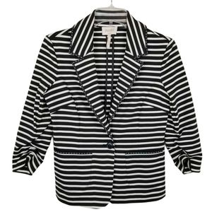 Laundry by Shelli Segal Size 4 Striped Blazer